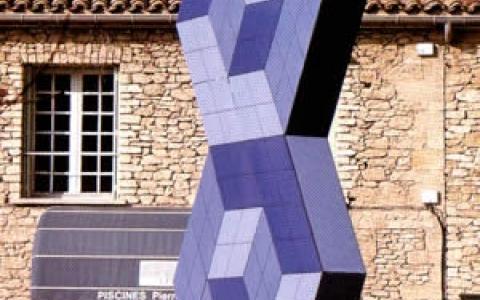 Victor Vasarely retrouve Gordes