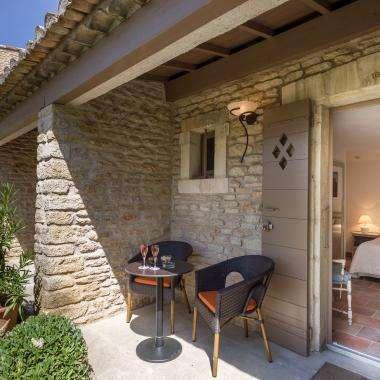 Hôtel Le Jas de Gordes - Chambre jardin