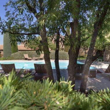 Hôtel le jas de Gordes piscine