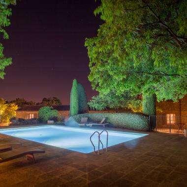 hotel le Jas de Gordes piscine