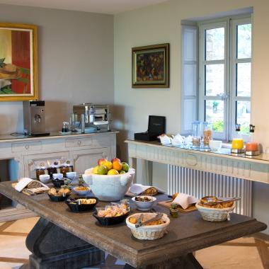 Hôtel Le Jas de Gordes - Salle du petit-déjeuner