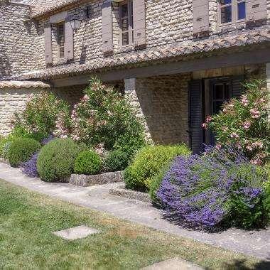 Le Jas de Gordes - chambre jardin