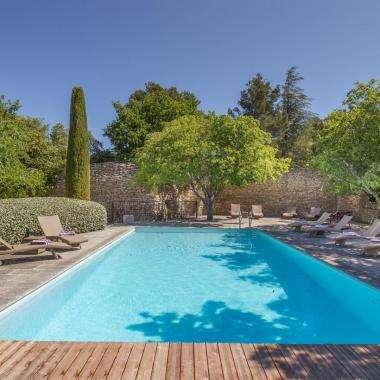 Le Jas de Gordes - la piscine