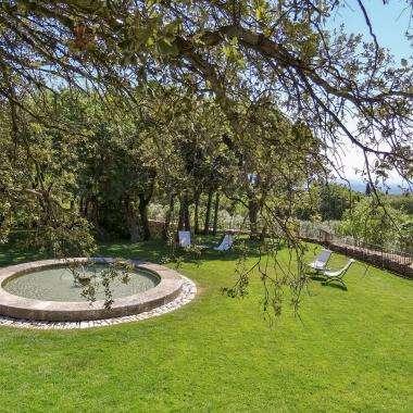 Le Jas de Gordes - le jardin