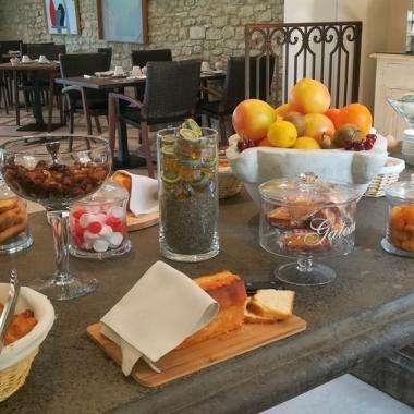 Le Jas de Gordes - petit déjeuner buffet